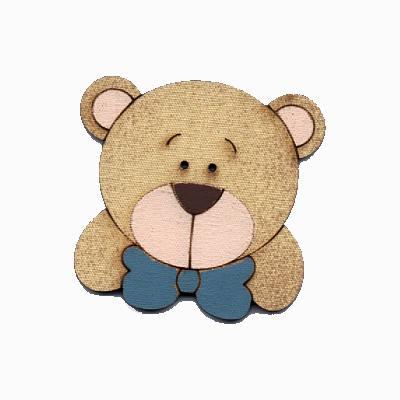 botão-madeira-urso