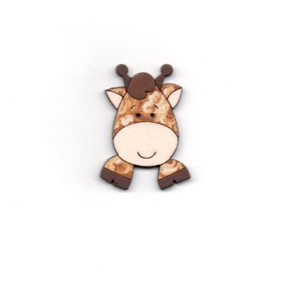 botão-madeira-girafa