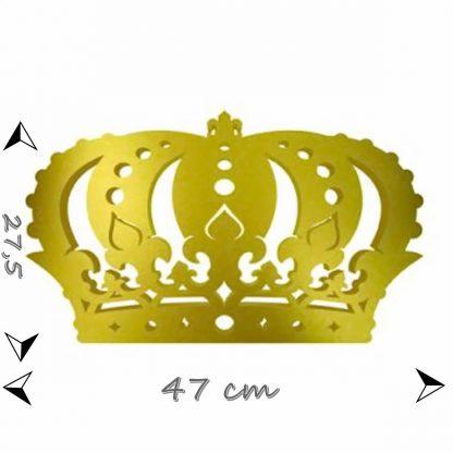 Painel Coroa Dourada - eva 5mm 1