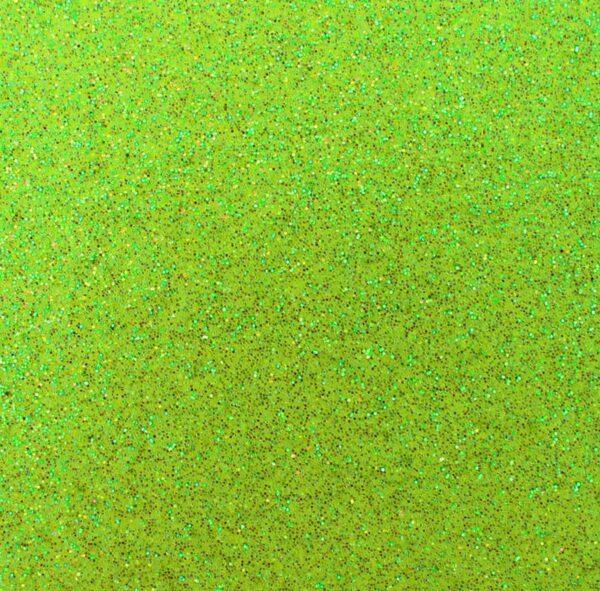 Eva Glitter Verde Neon - 5 folhas 1